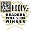 Wedding Readers Poll 2009 Winner